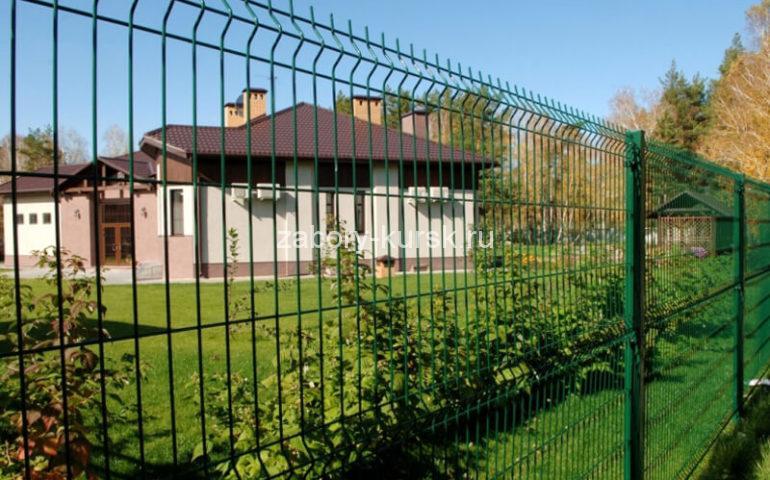 3д забор в Курске