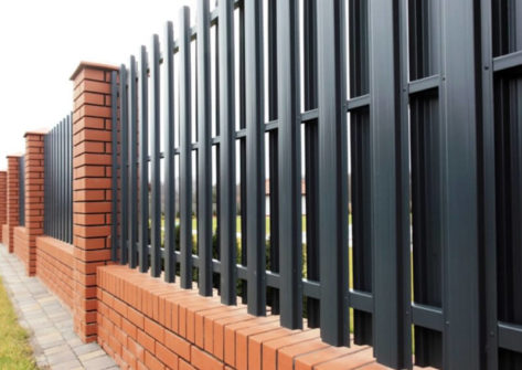 забор из евроштакетника цена в Курске