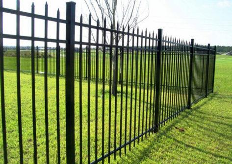 забор из профильной трубы в Курске