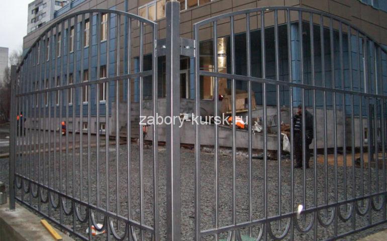 забор из профтрубы в Курске